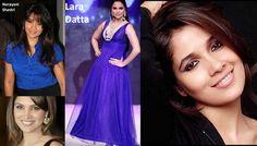 Today its Lara Datta's & Narayani Shastri's Bday  Wishing both of them a very very HAPPY B'DAY