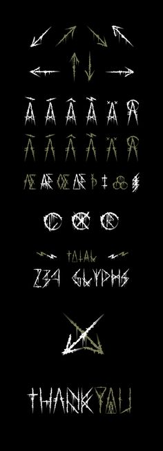Atuvuta - Fonts of Chaos. Metal Font, Typography Inspiration, Black Metal, Fonts, Calligraphy, Wallpaper Downloads, Wall Papers, Designer Fonts, Lettering