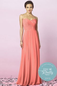 Fantastic fit for your bridesmaids - beautiful color!