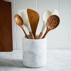 Marble Kitchen Utensil Holder 30