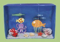 Lavoretto per bambini: un acquario tropicale... fai da te! - Nostrofiglio.it