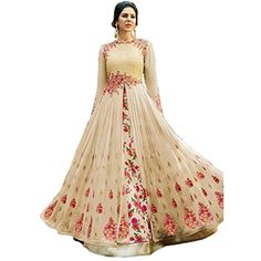 Long Gown for Wedding . 25 Long Gown for Wedding . Discount Berta 2019 A Line Beach Wedding Dresses Long Sleeve Sheer V Neck Lace Appliqued Bridal Gowns Sweep Train Tulle Boho Casual Wedding Dress Anarkali Gown, Lehenga Choli, Anarkali Suits, Silk Sarees, Long Anarkali, Dresses Elegant, Beautiful Dresses, Party Wear Long Gowns, Bridal Gowns