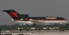private jets in fort lauderdale | this is the donald s private boeing 727 landing in fort lauderdale ...