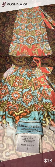 "Adorable ""Pillow Case"" Dress By McKinley Hudson This dress is soooo cute and in EUC. My grand may have worn it one time. It is 24"" long. McKinley Hudson Dresses Casual"
