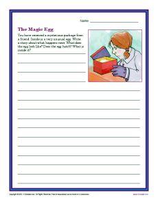 creative writing topics for grade 3