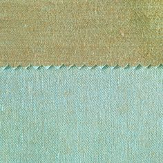 ANICHINI Fabrics | Janus Olive Green 16 Residential Fabric - a blue double faced linen fabric