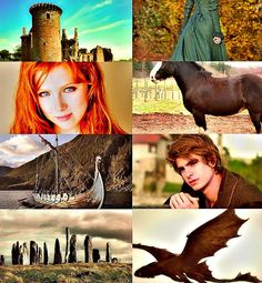 Merida and Hiccup manip for LJ9's fanfiction 'I'll build you a World'