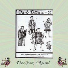 Early Tudor Men's Garments Circa 1495-1537 by TheGrannySquared