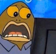 Funny Reaction Pictures, Meme Pictures, Meme Faces, Funny Faces, Funny Spongebob Faces, Cute Memes, Dankest Memes, Jokes, Current Mood Meme