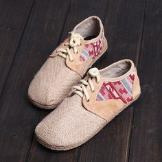 the latest e4eea 4a457 Items similar to Women Bohemian Wave Pattern Handmade Espadrilles Shoes,Flats,Slippers,Weave  Shoes on Etsy