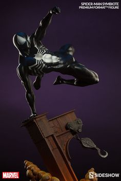 Spiderman Symbiote Costume Scale Premium Format Figure by Sideshow Collectibles Statues, Spiderman Art, Spiderman Symbiote, Cartoon As Anime, Figure Poses, Custom Action Figures, Sideshow Collectibles, Marvel Legends, Marvel Characters