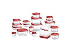42-piece Rubbermaid Easy Find Lids Food Storage Container Set for $9.95 at Amazon