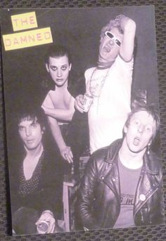 The Damned 70s Punk, Punk Goth, The Damned Band, New Wave Music, Goth Bands, Emo Princess, Punk Poster, Im A Loser, One Wave