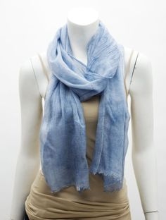Sheer Crinkled Scarf by V. Fraas at http://www.LorisShoes.com