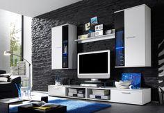 Neueste Wohnzimmermöbel Schwarz Weiß