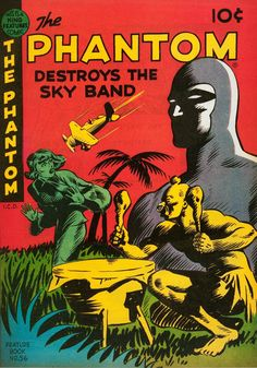 "atomic-chronoscaph: ""The Phantom - art by Ray Moore "" Comic Book Covers, Comic Books, Phantom Comics, Alternative Comics, Silver Age Comics, Comic Panels, Classic Comics, American Comics, Vintage Comics"