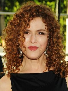 Bernadette Peters 3b curly spirally.....like me!  Ha! took me 53 years to figure out my hair type