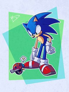 Blueslash On Twitter Here S Another Of My Old Drawings Sonic With A Tiny Motobug Sonicthehedgehog Sega Sonic Sonic The Hedgehog Classic Sonic
