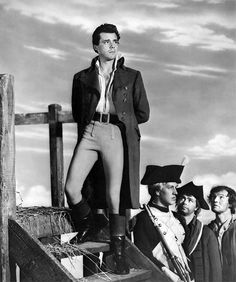 Dirk Bogarde as Sydney Carton in A Tale of Two Cities (1958).  Suddenly, I want to weep.  But i must hold my tears in check, lest they think it was myself i weep for.  And who would weep for Sydney Carton?  A little time ago, none in all the world.  But somebody will weep for me now.  And that knowledge redeems a worthless life--worthless but for this final moment, which makes it all worthwhile.  It is a far, far better thing I do than i have ever done.  It is far, far better rest I go to…