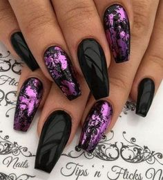 You should stay up to date with the latest nail designs nail colors . - You should stay up to date with the latest nail designs nail colors acrylic nails nail art - Beautiful Nail Art, Gorgeous Nails, Pretty Nails, Nice Nails, Beautiful Gorgeous, Different Nail Designs, New Nail Designs, Purple Nail Designs, Purple Nails With Design