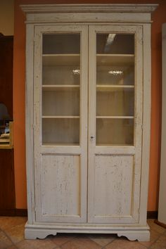 falegnameria bensi... vetrina in abete antico di recupero