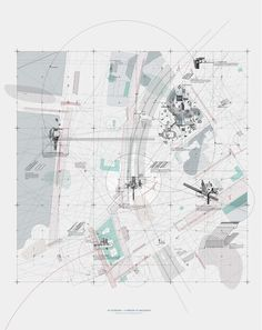 Curating an Egalitarian Territory II - Sayan Skandarajah Architecture Mapping, Paper Architecture, Architecture Graphics, Architecture Drawings, Landscape Architecture, Landscape Design, Urban Analysis, Site Analysis, Urban Mapping
