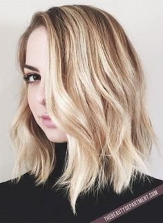 HOW TO STYLE A LOB OR A BOB | thebeautydepartment.com | Bloglovin'