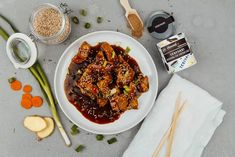 Rezept: Chicken Teriyaki mit selbstgemachter BIO Teriyaki Sauce - zero waste! #kochen #genießen #lecker #asiatischesessen #asiatischeküche #teriyaki #chicken Teriyaki Chicken, Foodblogger, Chicken Wings, Food Inspiration, Zero, Healthy Recipes, Cooking, Spices And Herbs, Asian Cuisine