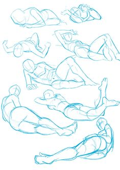 44 Ideas For Art Reference Poses Laying Down luis velez Drawing Body Poses, Body Reference Drawing, Anime Poses Reference, Drawing Tips, Sketching Tips, Drawing Techniques, Anatomy Sketches, Anatomy Drawing, Anatomy Art