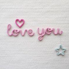 sunday rose - 글씨체_선데이체 색  상_love you(04 연분홍) 추  가_하트(03 진분홍), 별(16 민트) -