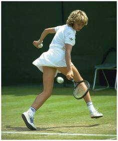 Steffi Graf, byname of Stephanie Maria Graf is a German former professional tennis player who dominated women's tennis in the late and. Tennis Wear, Sport Tennis, Play Tennis, Steffi Graff, Tennis Open, Tennis Legends, Professional Tennis Players, Tennis Players Female, Tennis Fashion