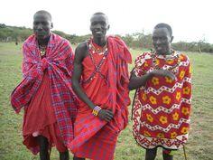 ケニアのマサイ族たち(イメージ)
