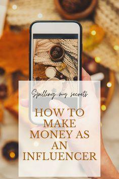 Spilling my secrets: How I make money blogging