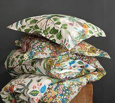 Evie Reversible Organic Duvet & Shams #potterybarn
