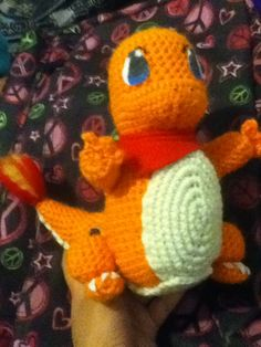 Made this Charmander with its mouth closed. Not as cute as the other one I made with its mouth open but I love it anyways!