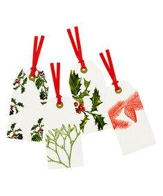 Another great find on #zulily! 24-Ct. Botanical Christmas Tag #zulilyfinds