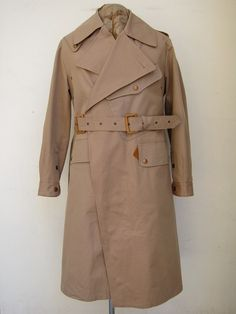 40s BRITISH ARMY MOTORCYCLE COAT