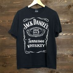 Vintage Jack Daniels Whiskey Distressed Tee.... I ALSO LOVE THIS SHIRT https://shop.olesmoky.com/apparel/vintage-whiskey-tee.html