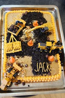 The Funky Clothespin: A Four-Year-Old and his Construction Cake