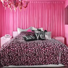 Pinkie and The Leopard Skins (Pre-Order!)  wakeupfrankie.com #pinkdecor #pinkbedding