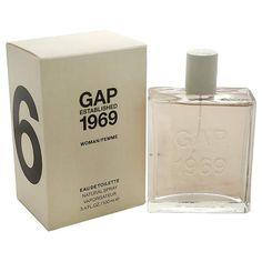 Established 1969 - http://www.perfumes.com/established-1969-gap-women-3-4-oz/ -