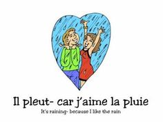 PARAPLUIE Alain le Lait.m4v Great song for learning  the weather French Teaching Resources, Teaching French, Teaching Tools, French Greetings, Teaching Weather, French Poems, French Practice, Spring Song, Weather Rain
