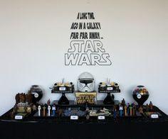 Organiser un goûter d'anniversaire pour mini Jedi !!! Plein de bonnes idées compilées chez Fée maison