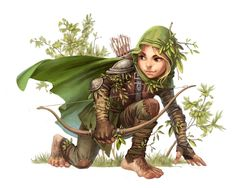 f Halfling Ranger Med Armor Cloak Shortbow Sword forest hills community farmland Forester by Valeria Lutfullina / Paizo Dungeons And Dragons Characters, Dnd Characters, Fantasy Characters, Female Characters, Fantasy Character Design, Character Creation, Character Concept, Character Art, Fantasy Kunst