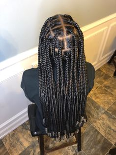 Box Braids Hairstyles For Black Women, Braids Hairstyles Pictures, African Braids Hairstyles, Cool Braid Hairstyles, Black Girl Braids, Braids For Black Hair, Natural Hairstyles, Large Box Braids, Jumbo Box Braids