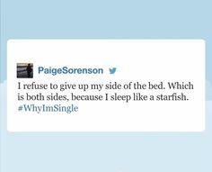 #WhyImSingle