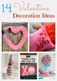 14 Valentine Decoration Ideas