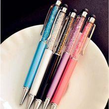 Adorable stylo à bille signes de la main flexible ballpoint happy face