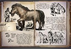 ARK: Survival Evolved - Dossier: Equus