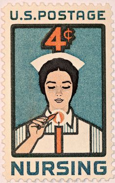 we even have a nursing postage stamp